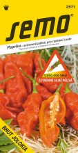 HOBBY, Zelenina - Paprika roční Bhut Jolokia, 2571 (Capsicum frutescens)