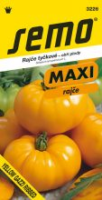 HOBBY, Zelenina - Rajče tyčkové Yellow Gazzi Ribbed, 3226 (Lycopersicon esculentum Mill.)