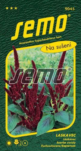 HOBBY, Květiny letničky - Laskavec (červený) Pygmy Torch, 9045 (Amaranthus hypochondriacus)