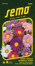 HOBBY, Květiny letničky - Astra čínská Andrella super Mix, 9099 (Callistephus chinensis)