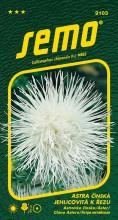 HOBBY, Květiny letničky - Astra čínská Electric bílá, 9103 (Callistephus chinensis)