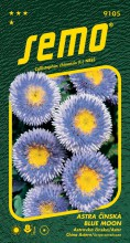 HOBBY, Květiny letničky - Astra čínská Blue Moon, 9105 (Callistephus chinensis)