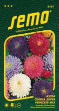 HOBBY, Květiny letničky - Astra čínská Super Princess směs, 9107 (Callistephus chinensis)