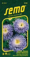 HOBBY, Květiny letničky - Astra čínská Super Princess modrá, 9108 (Callistephus chinensis)