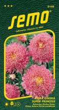 HOBBY, Květiny letničky - Astra čínská Super Princess růžová, 9109 (Callistephus chinensis)