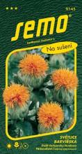 HOBBY, Květiny letničky - Světlice barvířská Orange Bowl, 9145 (Carthamus tinctorius)