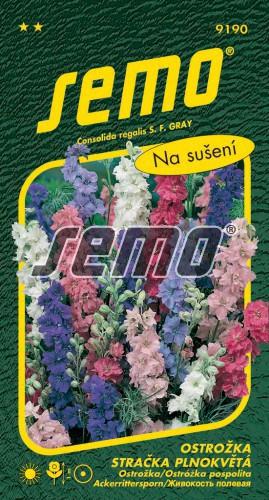 HOBBY, Květiny letničky - Ostrožka stračka plnokvětá směs barev, 9190 (Consolida regalis)