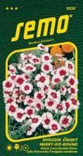 HOBBY, Květiny letničky - Hvozdík čínský Merry Go Round, 9230 (Dianthus chinensis)