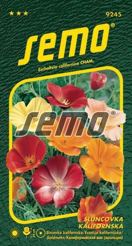 HOBBY, Květiny letničky - Sluncovka kalifornská směs, 9245 (Escholtzia californica)