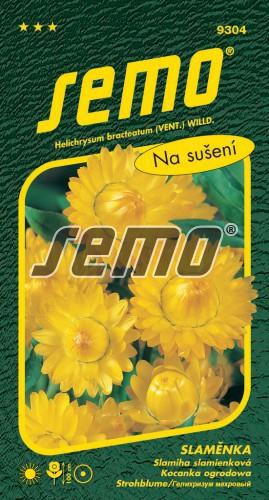 HOBBY, Květiny letničky - Slaměnka žlutá, 9304 (Helichrysum bracteatum)