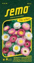 HOBBY, Květiny letničky - Smilek růžový (nesmrtelka) směs, 9315 (Helipterum roseum)
