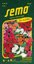 HOBBY, Květiny letničky - Netýkavka sultánská směs barev, 9336 (Impatiens valleriana)