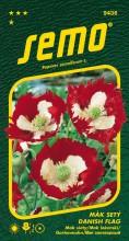 HOBBY, Květiny letničky - Mák setý Danish Flag, 9436 (Papaver somniferum)