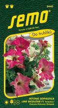 HOBBY, Květiny letničky - Petunie velkokvětá Sophistica Lime Bicolour F1, 9440 (Petunie x hybrida)