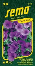HOBBY, Květiny letničky - Petunie typ surfinie Wonder Wawe Blue F1, 9448 (Petunia x hybrida)
