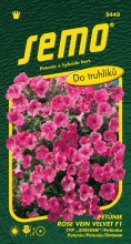 HOBBY, Květiny letničky - Petunie typ surfinie Rose Vein Velvet F1, 9449 (Petunia x hybrida)