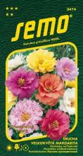 HOBBY, Květiny letničky - Šrucha velkokvětá Margarita Mix, 9474 (Portulaca grandiflora)