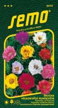 HOBBY, Květiny letničky - Šrucha velkokvětá plnokvětá, 9476 (Portulaca grandiflora)