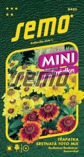 HOBBY, Květiny letničky - Třapatka srstnatá (rudbékie) Toto Mix, 9483 (Rudbeckia hirta)