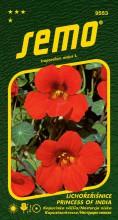 HOBBY, Květiny letničky - Lichořeřišnice větší Princess of India, 9553 (Tropaeolum majus)