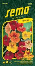 HOBBY, Květiny letničky - Lichořeřišnice větší Grande směs, 9555 (Tropaeolum majus)