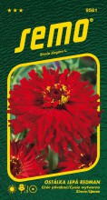 HOBBY, Květiny letničky - Ostálka lepá Redman, 9581 (Zinnia elegans)