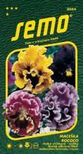 HOBBY, Květiny trvalky - Maceška zahradní velkokvětá Rococo směs, 9664 (Viola x witrockiana)