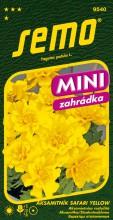 HOBBY, Květiny letničky - Aksamitník rozkladitý Safari yellow, 9540 (Tagetes patula)