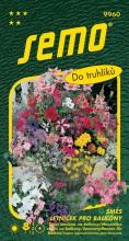 HOBBY, Květiny letničky - Směs letniček pro balkony, 9960 (Balconi MIX)
