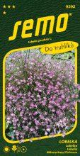 HOBBY, Květiny letničky - Lobelka Lila, 9392 (Lobelia erinus)
