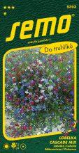 HOBBY, Květiny letničky - Lobelka Cascade směs, 9393 (Lobelia pendula)