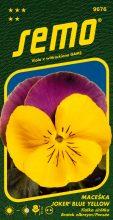 HOBBY, Květiny trvalky - Maceška velkokvětá Joker Blue Yellow, 9676 (Viola witrockiana)