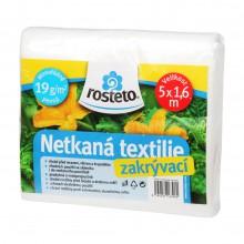 HOBBY, Netkaná textilie - Netkaná textilie 1,6 x 5 m - bílá, 8950-00