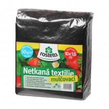 HOBBY, Netkaná textilie - Netkaná textilie 1,6 x 10 m - černá, 8952-01