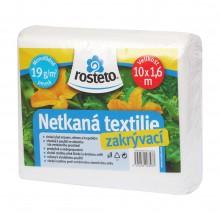 HOBBY, Netkaná textilie - Netkaná textilie 1,6 x 10 m - bílá, 8952-02