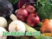 HOBBY, Ostatní - kalendář Zahrádkářův rok 2021